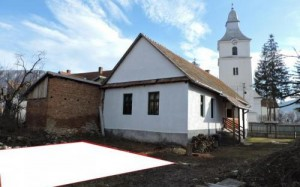Site of proposed expansion of the community hall in Torockoszentgyorgy