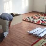 Preparing the new daycare dorm