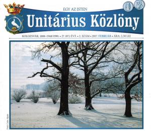 Unitarian Gazette February 2017